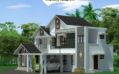 2260 Sqft 4BHK Attraktive indische Home Design