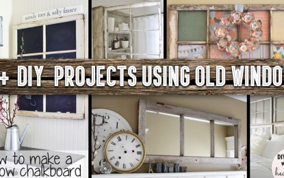 16 DIY Fertigkeit-Projekte mit alten Vintage-Windows-