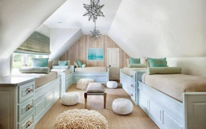 15 Attic Living Design-Ideen