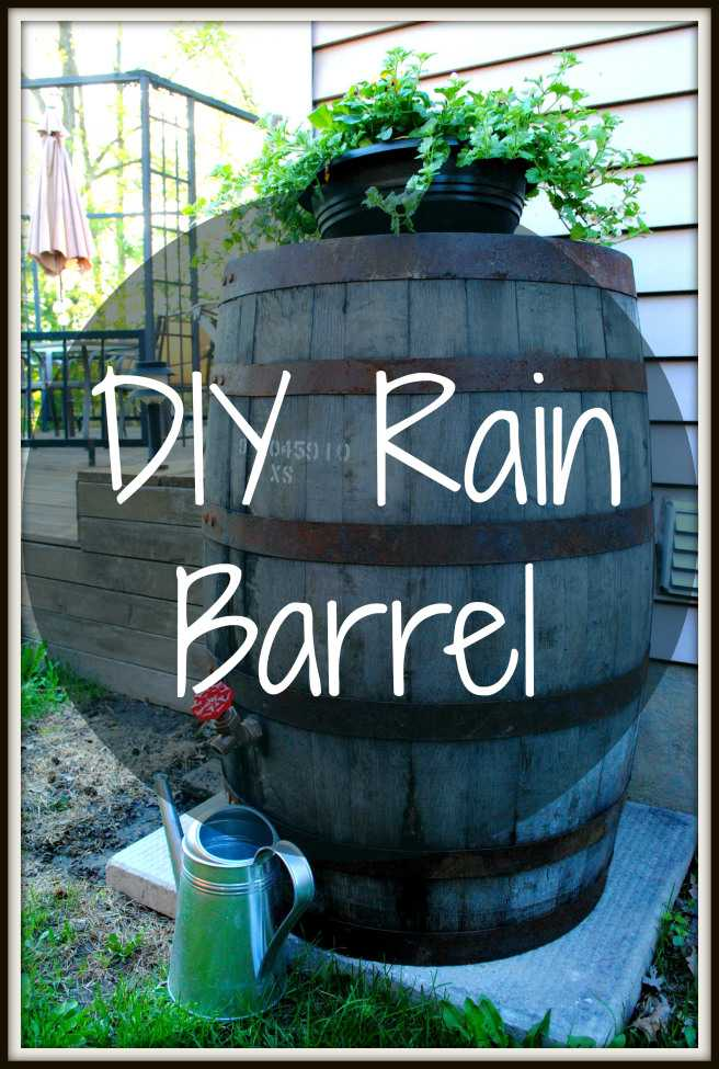 Awesome DIY Regen Barrel für Dürren