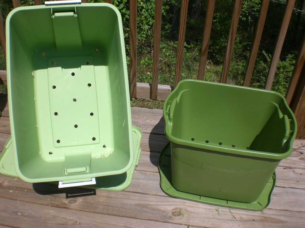 Rubbermaid Container Garten