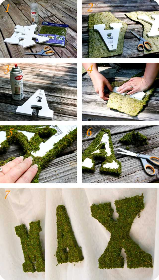 Holzig Partei Tutorial Zwei- Moss Letters